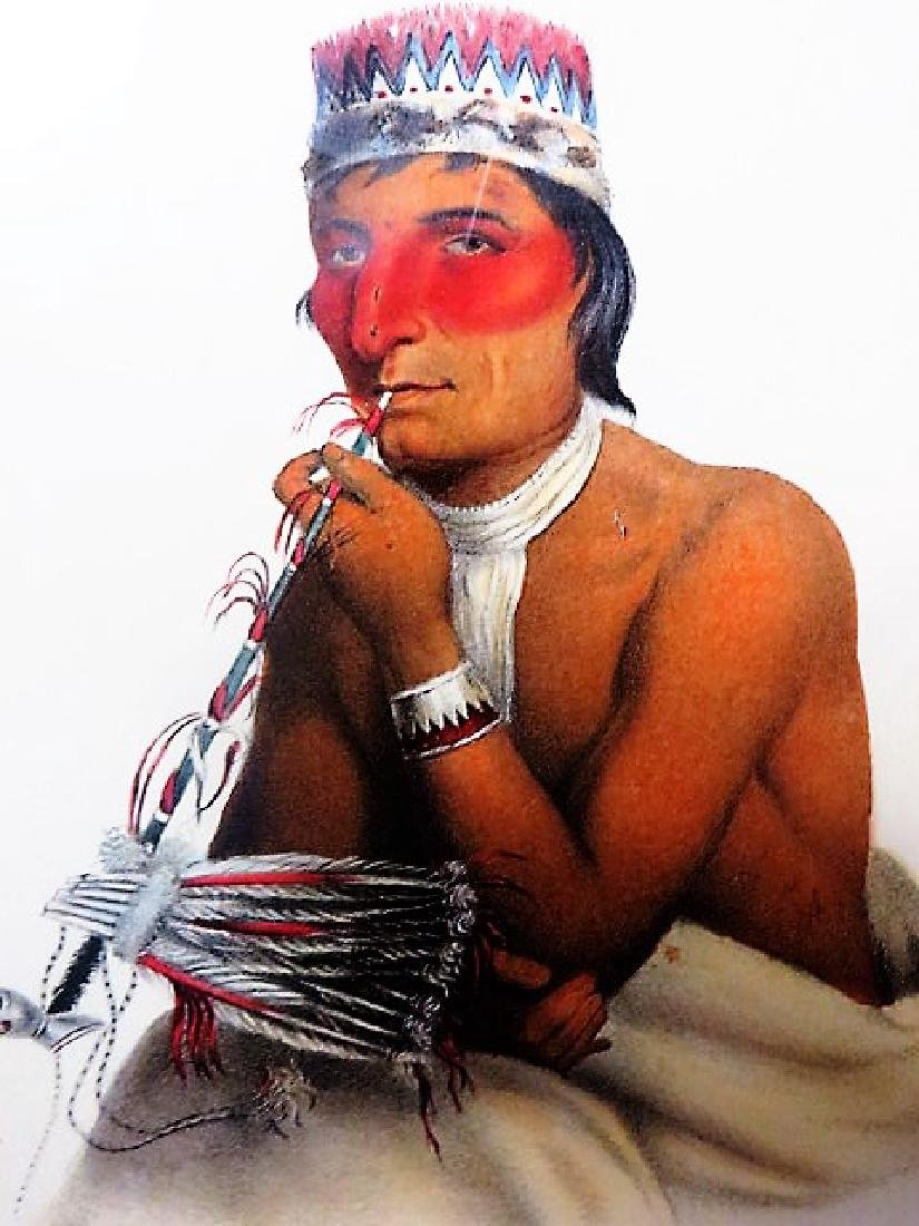 McKenney and Hall Indian Lithograph