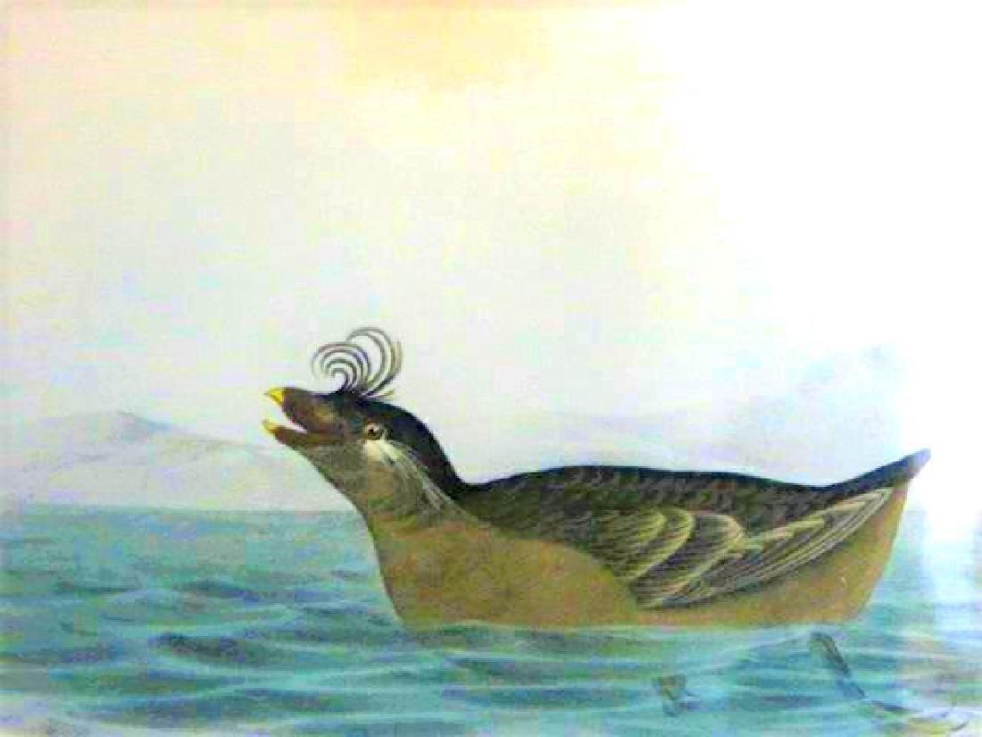J.J. Audubon. Octavo. Curled Crested Phaleris No.467