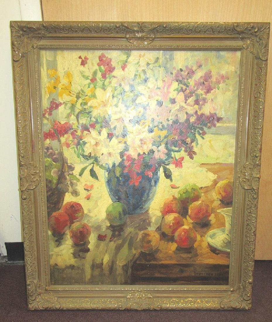 Dorothea Sharp. Important Oil. Signed