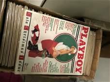 Vintage Playboy Magazine Collection Box 4