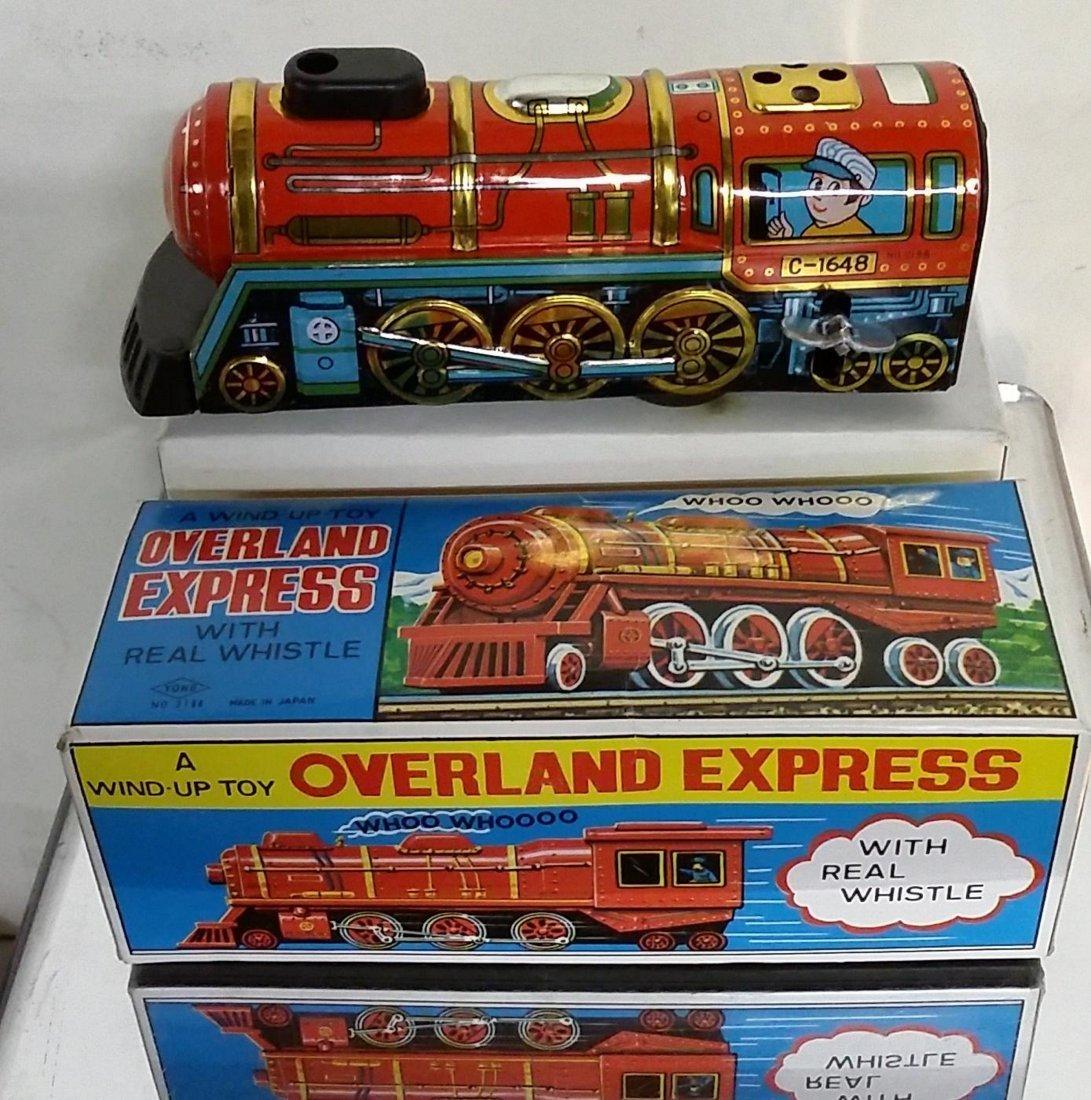 Overland Express Wind Up Train