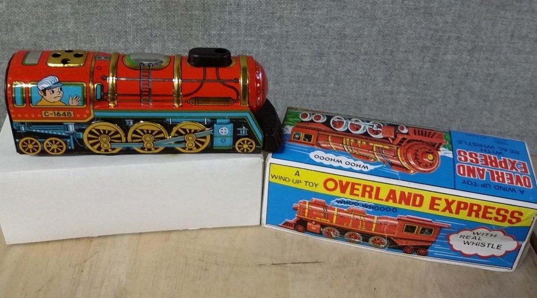 Overland Express Wind Up Train - 2