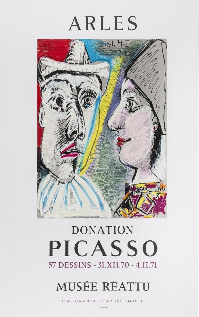 δ Pablo Picasso (1881-1973)(after)  Arles Donation