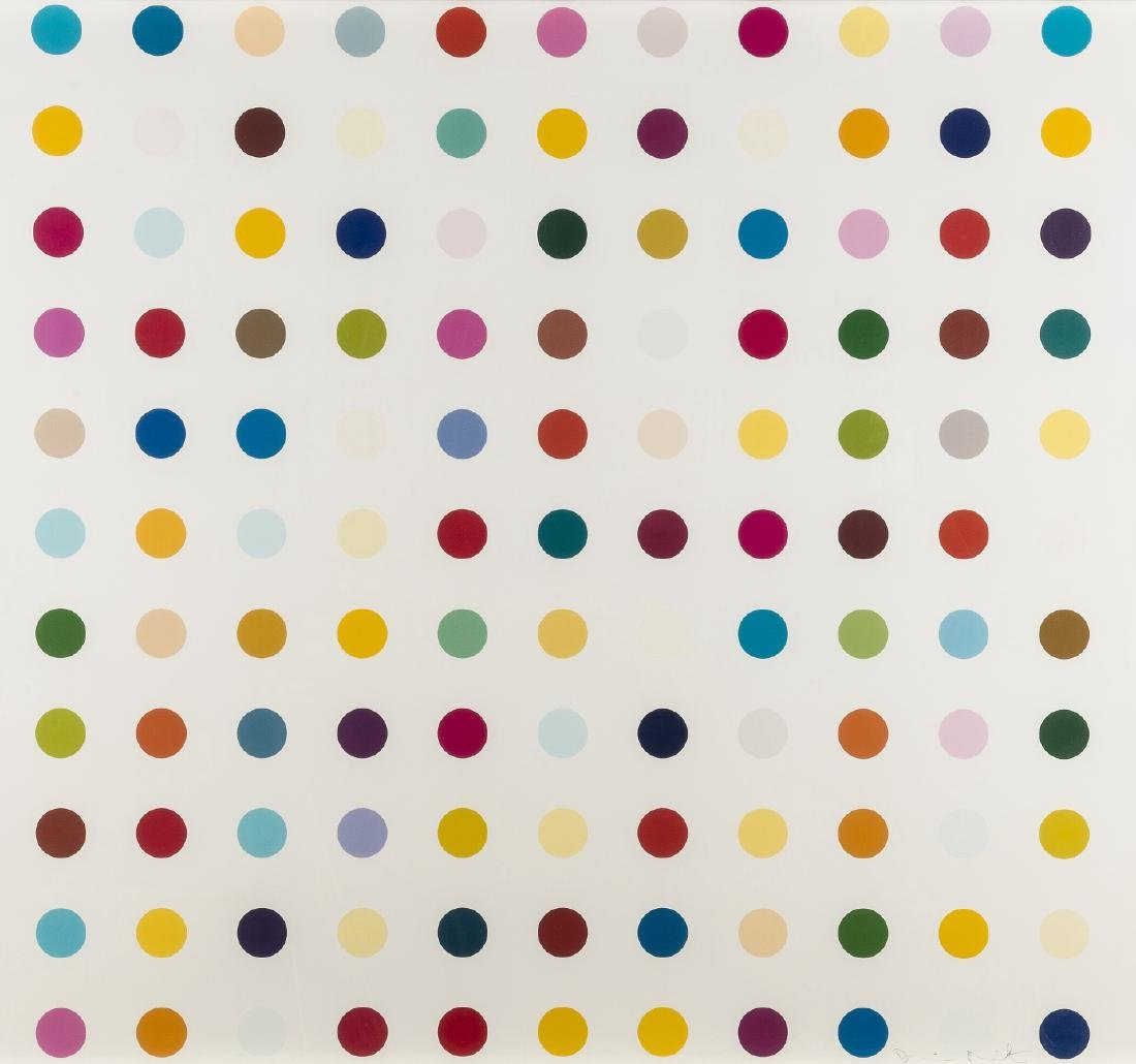δ Damien Hirst (b.1965)  Lysergic Acid