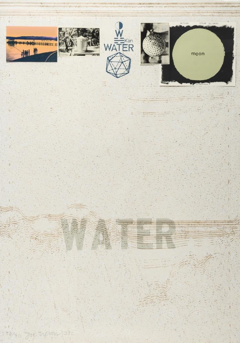 δ Joe Tilson (b.1928)  Alcheringa 3 Water