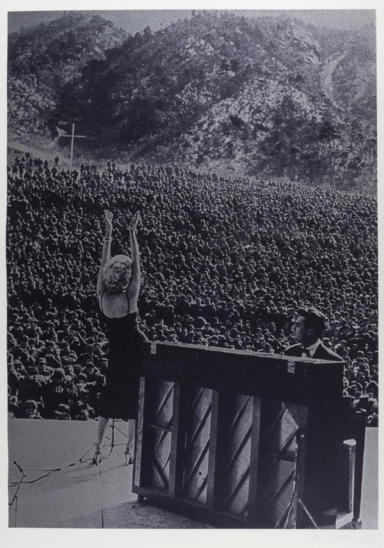 δ Russell Young (b.1959)  Marilyn in Korea