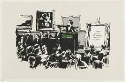 δ Banksy (b.1974) Morons