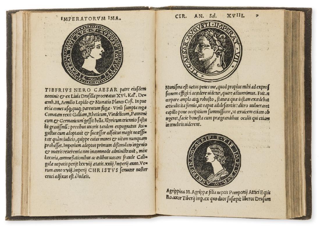 Numismatics.- Huttichius (Johannes) Imperatorum