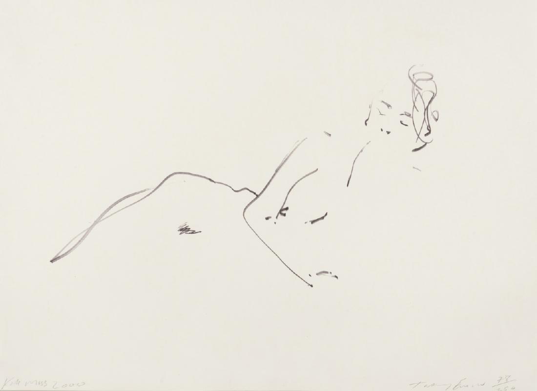 δ Tracey Emin (b.1963)  Kate Moss