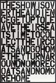 Christopher Wool (b.1955) & Felix Gonzalez-Torres  The