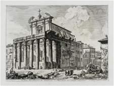 Giovanni Battista Piranesi (1720-1788) Veduta del