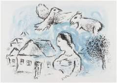 948 Marc Chagall 18871985  Derri232re le