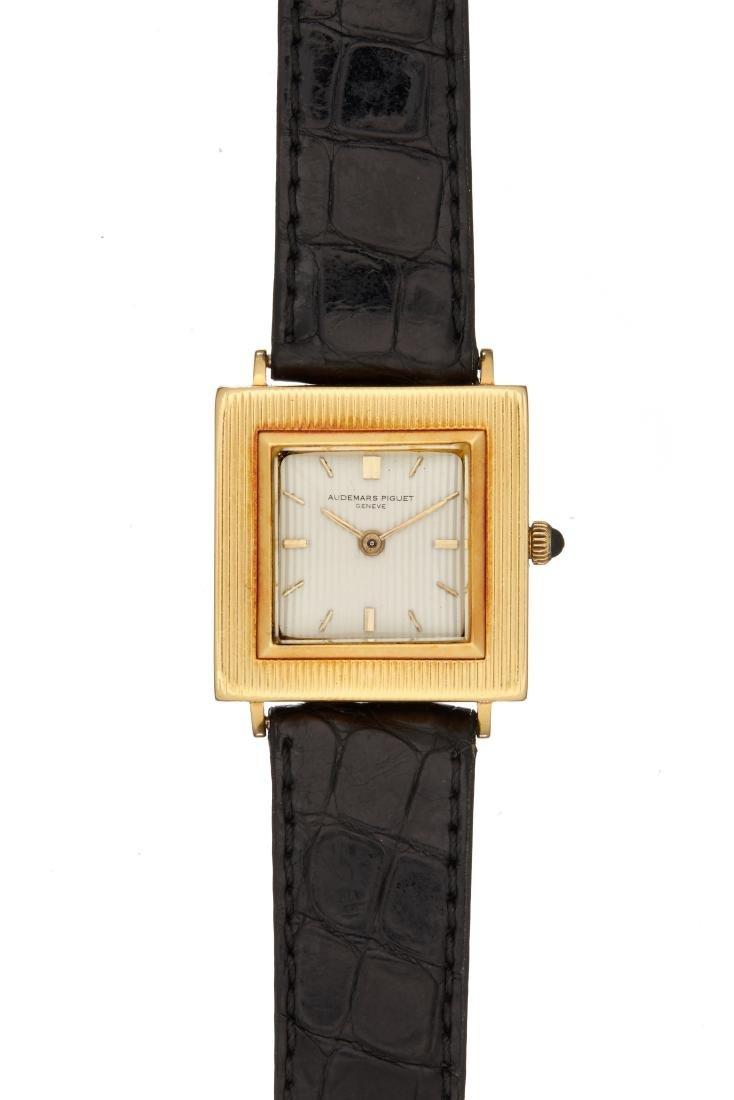 Audemars Piguet, an 18 carat gold wristwatch