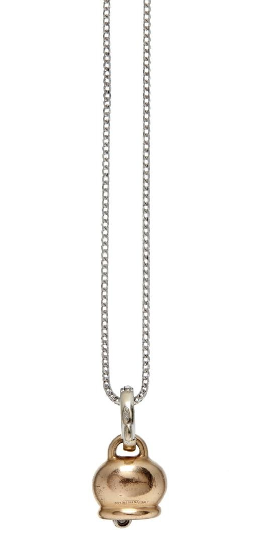 A diamond pendant by Chantecler - 2