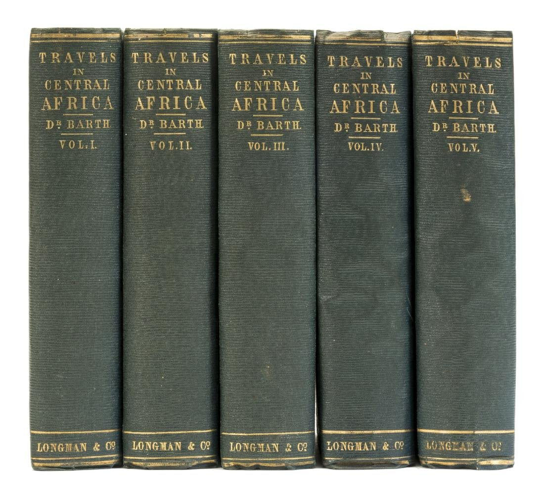 Africa.- Barth (Heinrich) Travels and Discoveries in