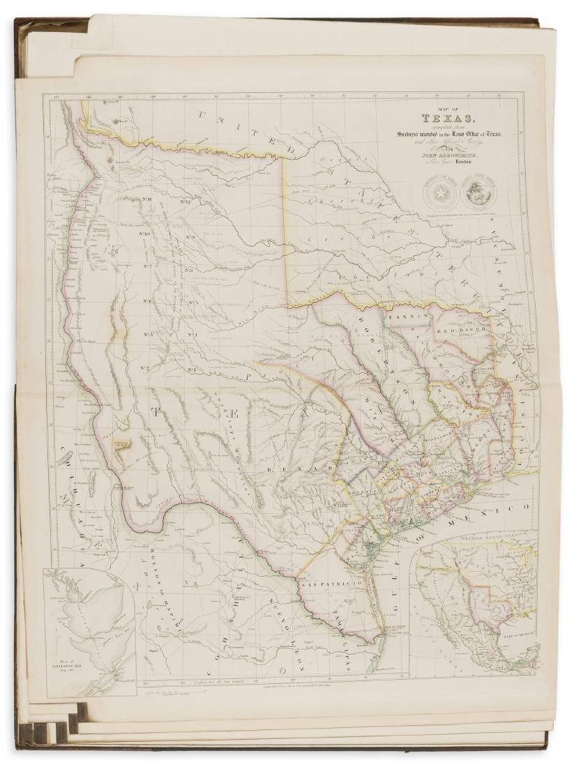America.- Arrowsmith (John) The London Atlas of