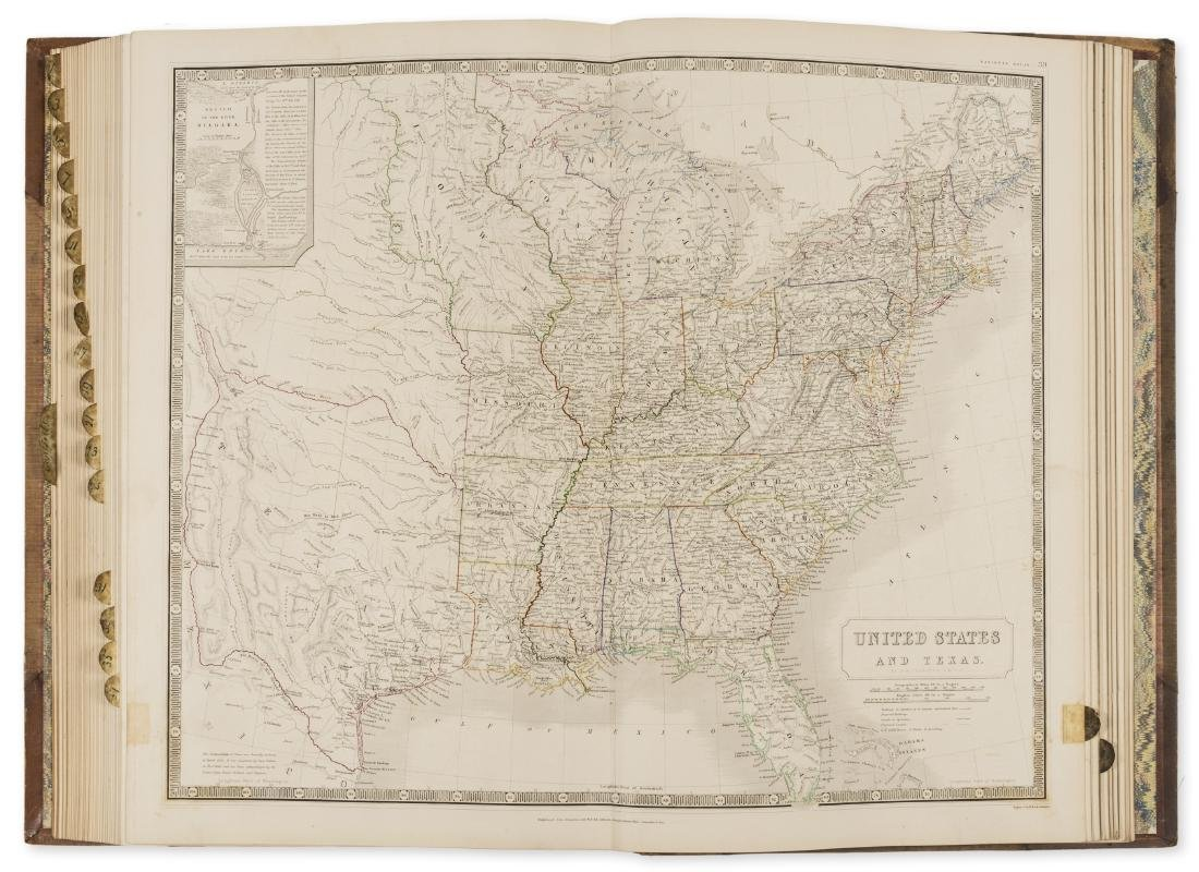 America.- Johnston (Alexander Keith) The National Atlas