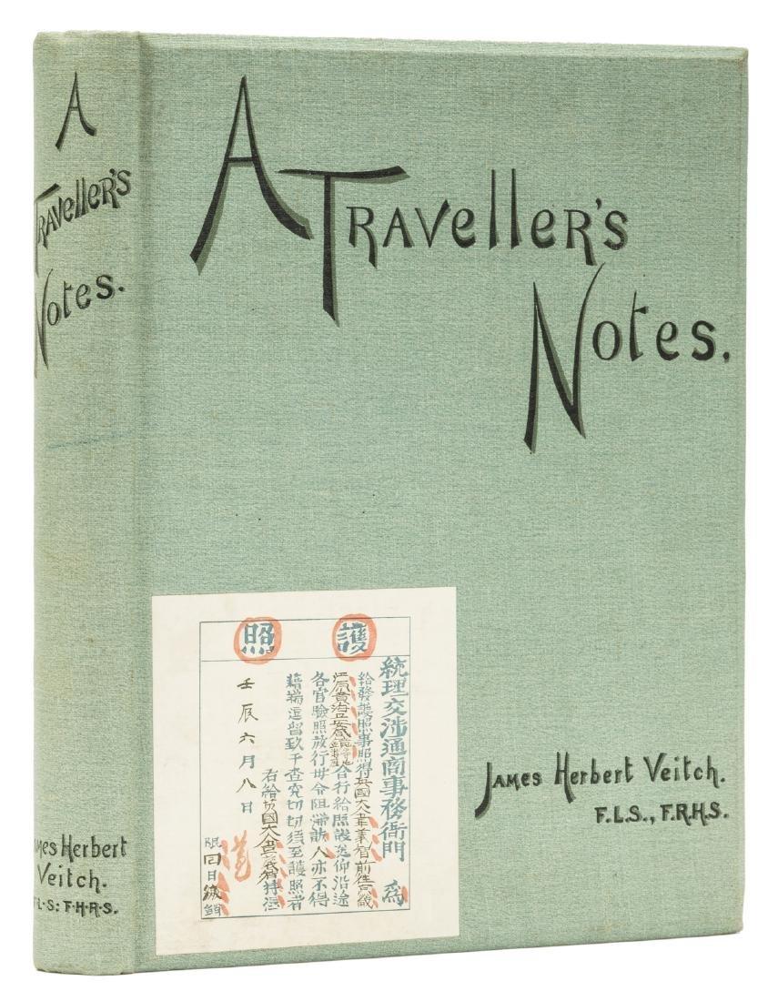 Asia.- Veitch (James Herbert) A Traveller's Notes,