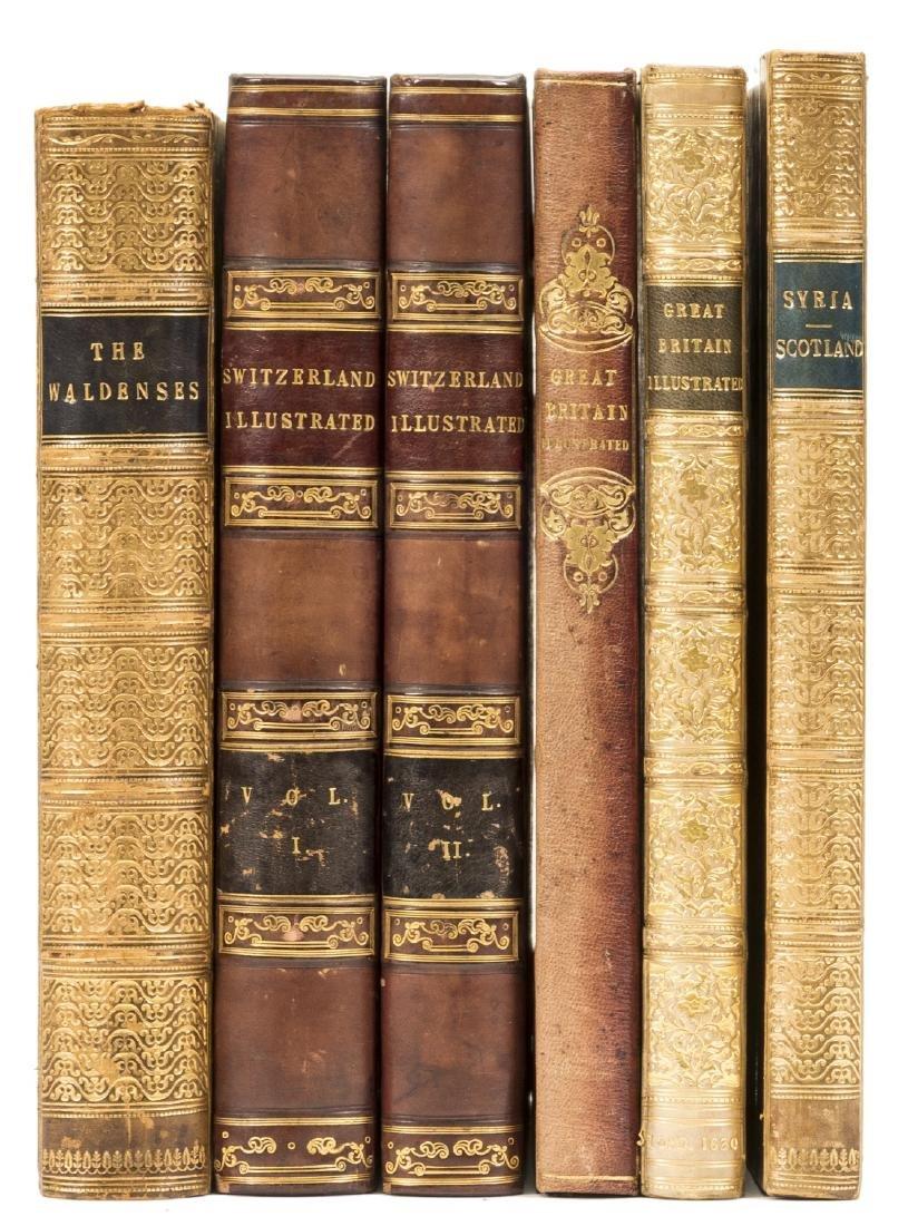 Europe.- Beattie (William) The Waldenses, 1838; and 5