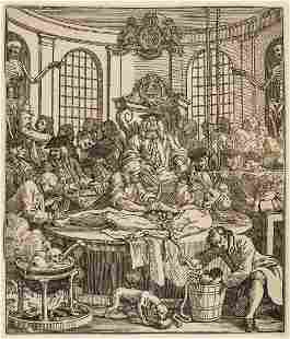 Hogarth (William) A comprehensive collection of