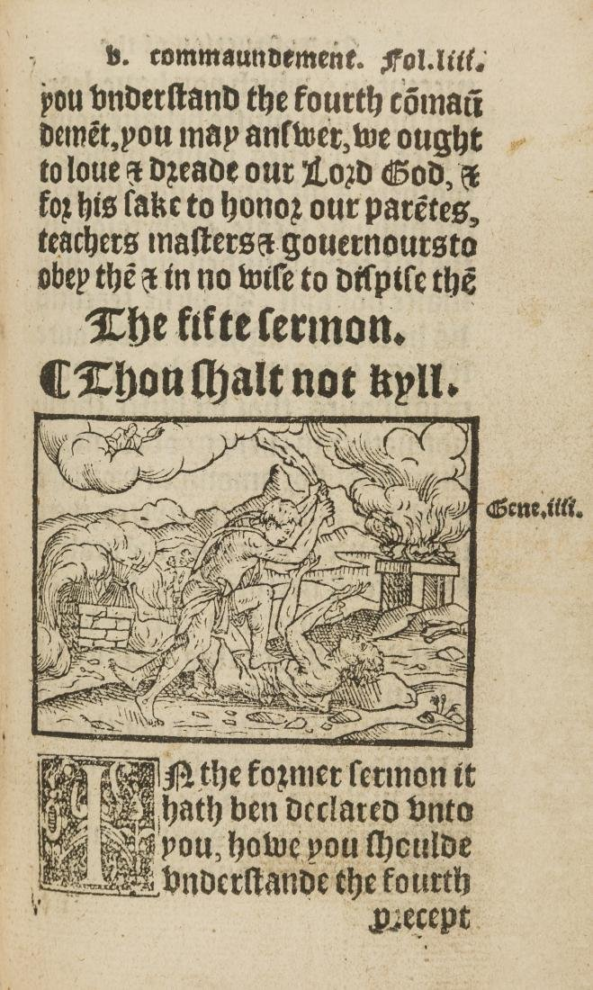 Cranmer (Thomas) Catechismus, that is to say, a shorte