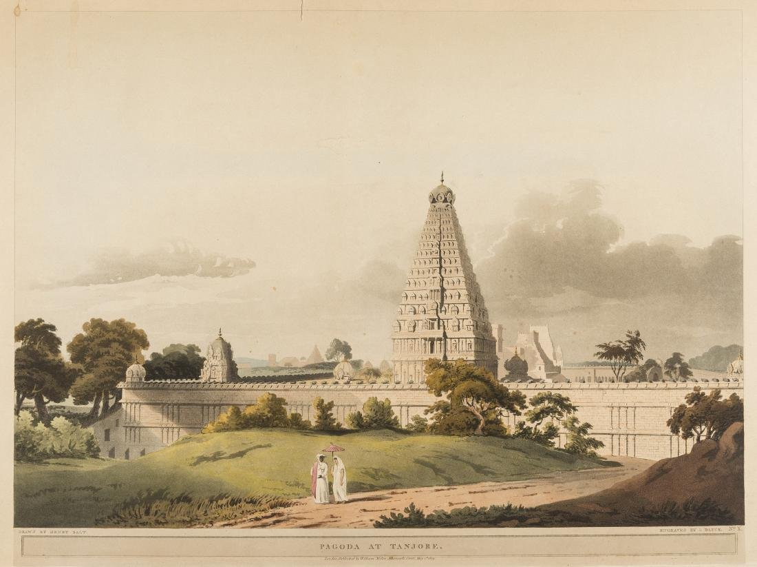 India and the Middle East.- Salt (Henry) Pagoda at