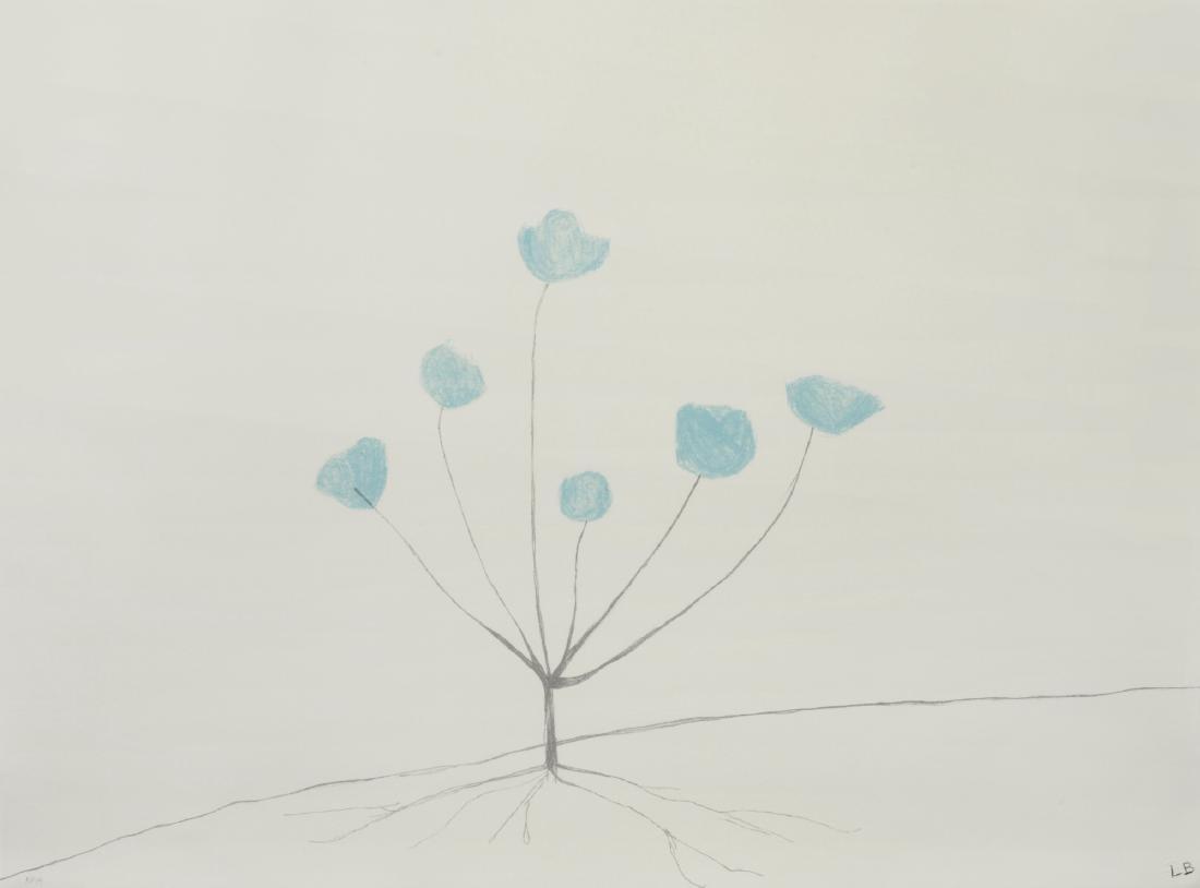 δ Louise Bourgeois (1911-2010)  Flower in the