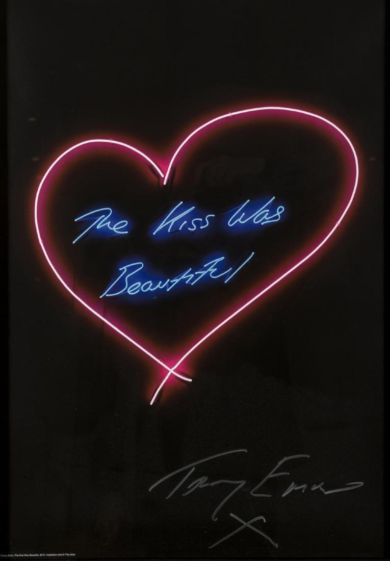 δ Tracey Emin (b.1963)  The Kiss Was Beautiful