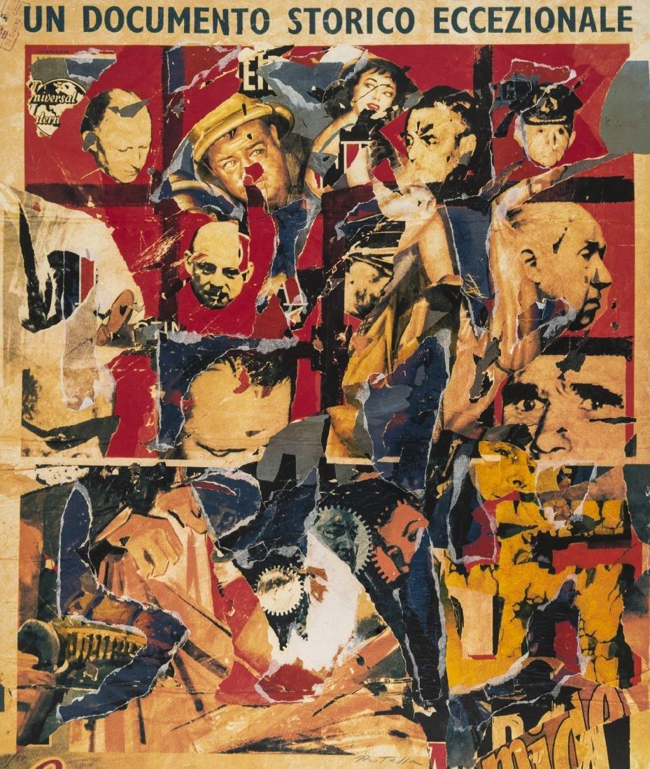 δ Mimmo Rotella (1918-2006)  Un Documento Storico