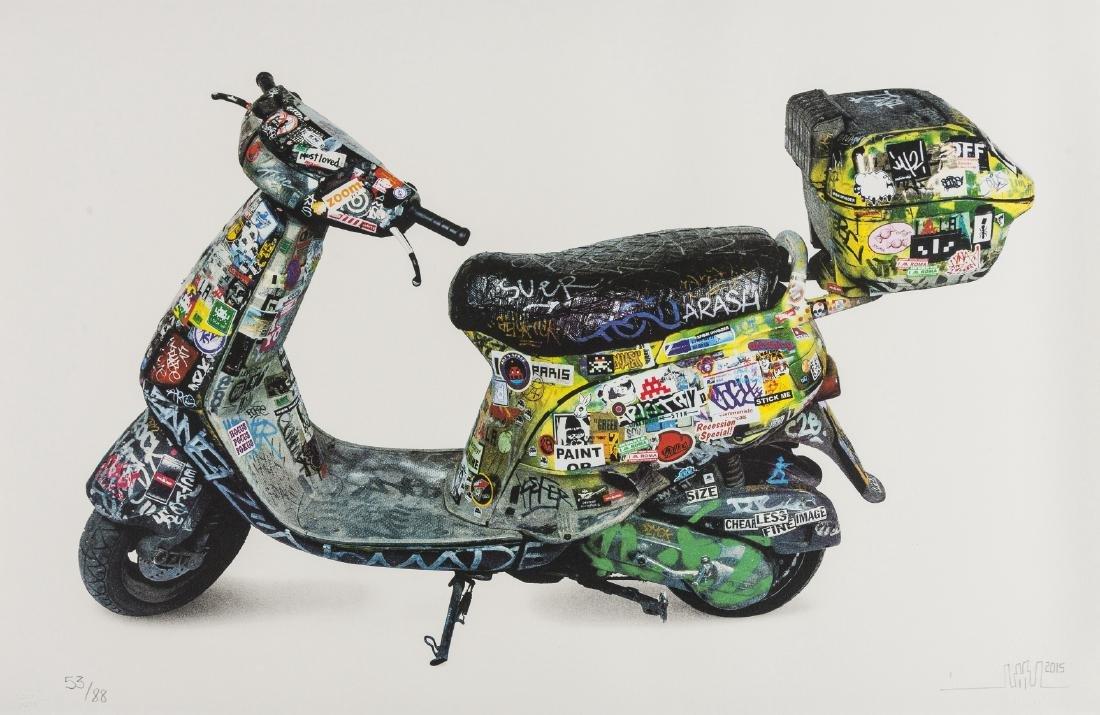 δ Invader (b.1969)  Scooter
