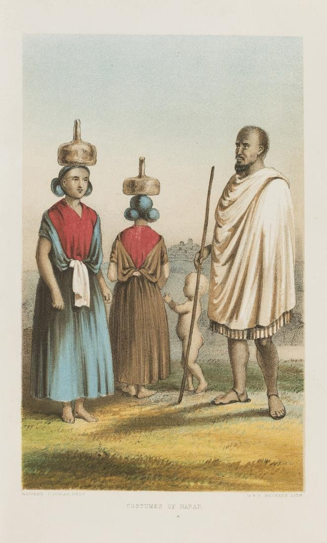 Africa.- Burton (Sir Richard Francis) First Footsteps