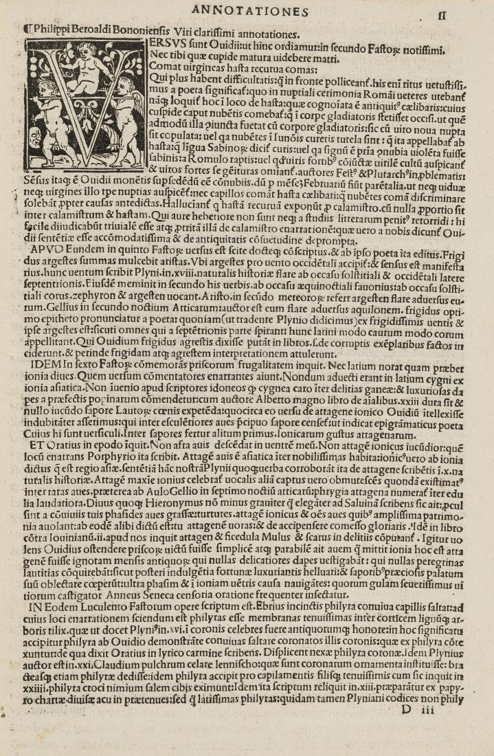 Sabellicus (Marcus Antonius Coccius) In hoc volumine