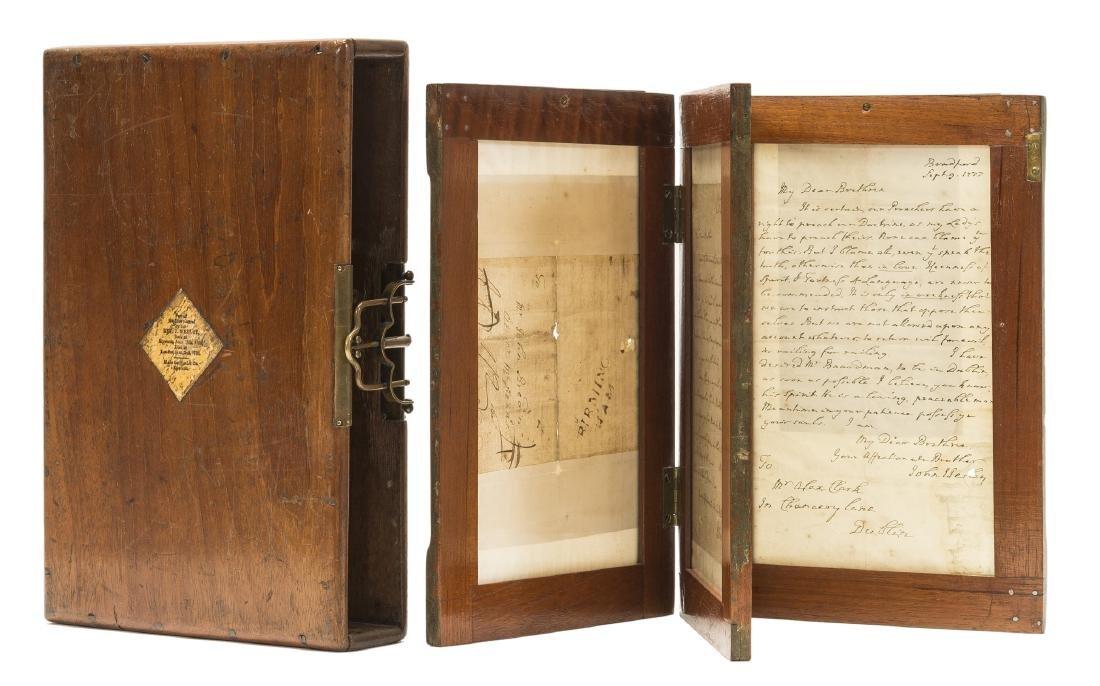 Wesley (John) Autograph Letter signed, 1782. - 3