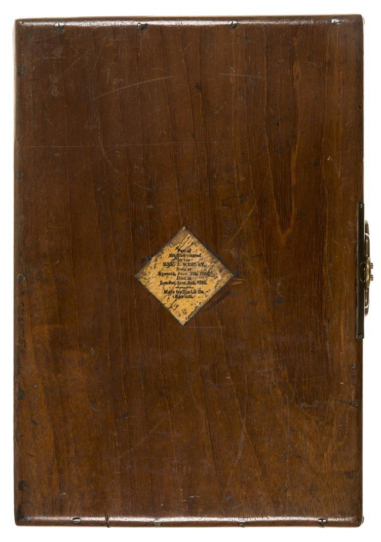 Wesley (John) Autograph Letter signed, 1782. - 4