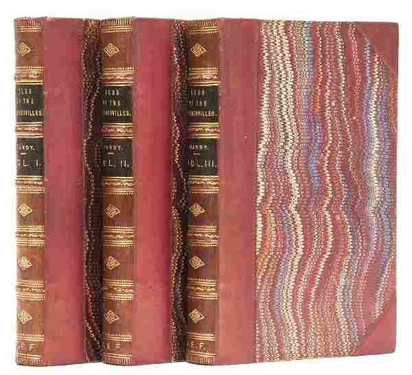 Hardy (Thomas) Tess of the d'Urbervilles, 3 vol., first