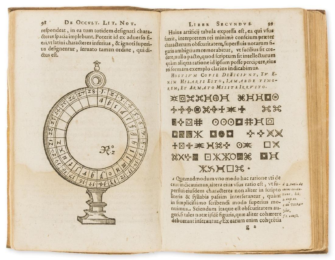 Porta (Giovanni Baptista della) De occultis literarum