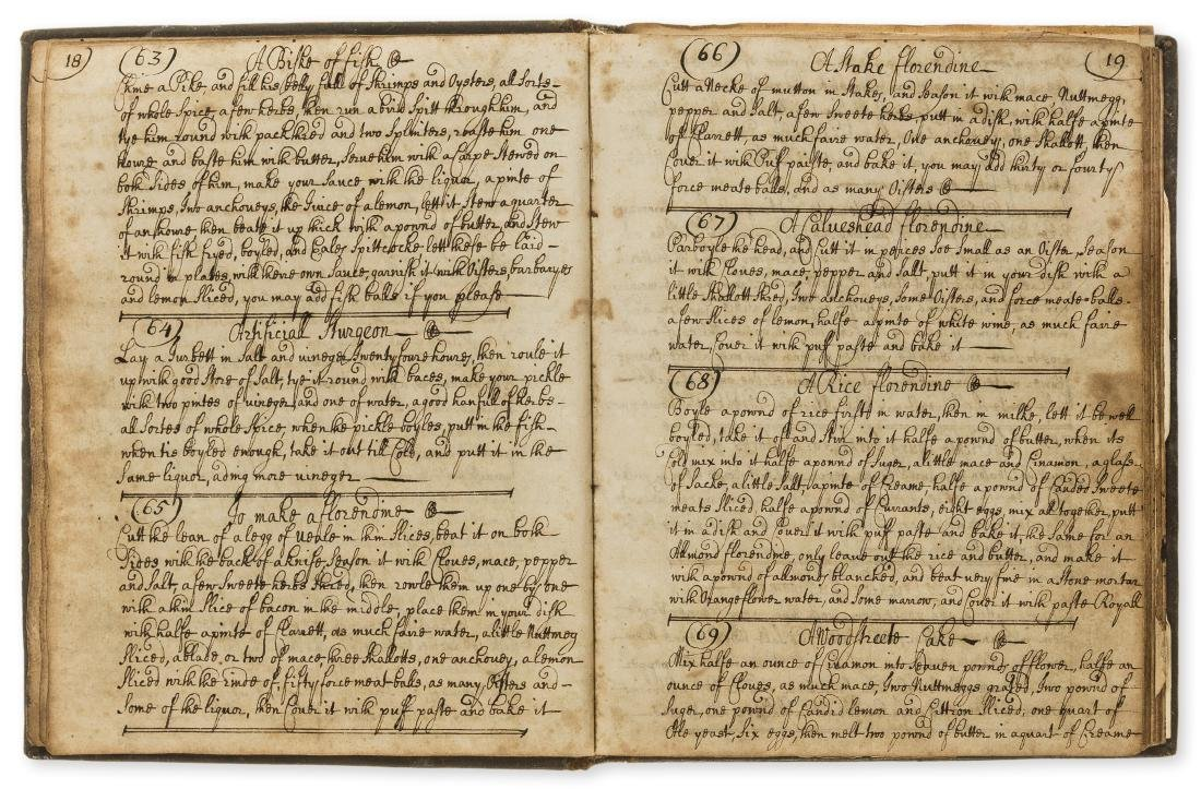 Cookery & Medical Recipes.- Collection of recipes,
