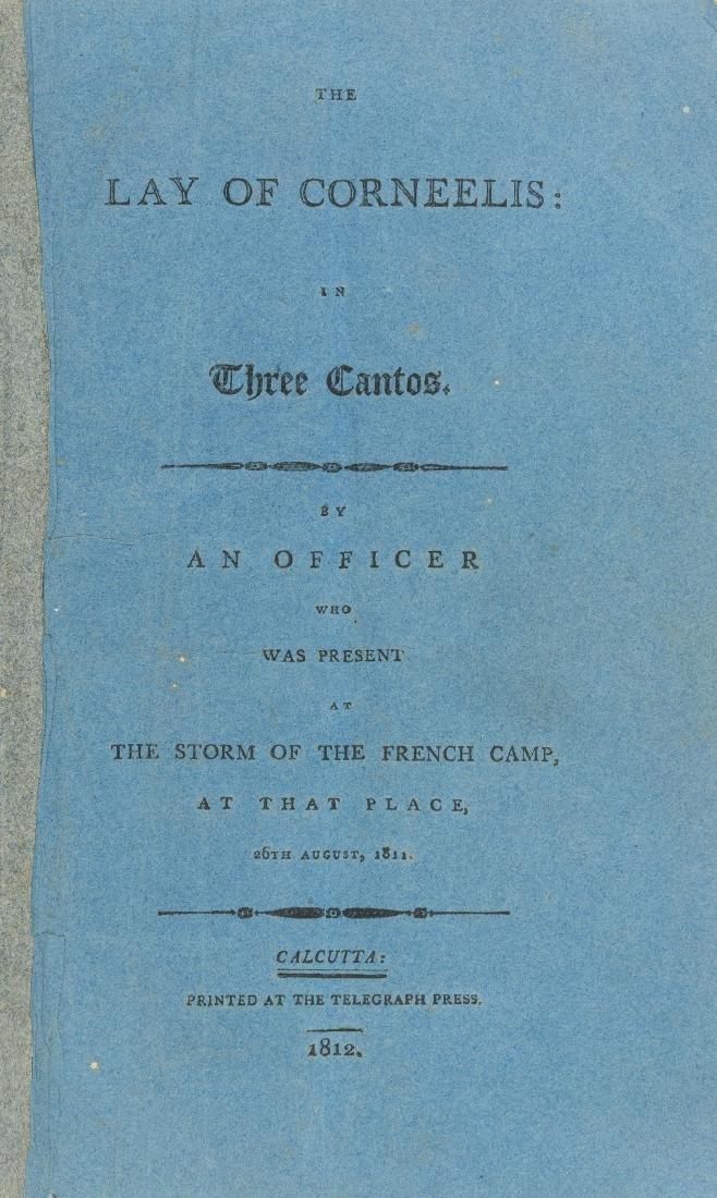 Java.- Taylor (Thomas William) The Lay of Corneelis,