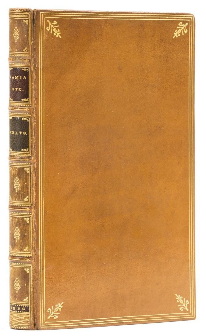 Keats (John) Lamia, Isabella, The Eve of St. Agnes, and