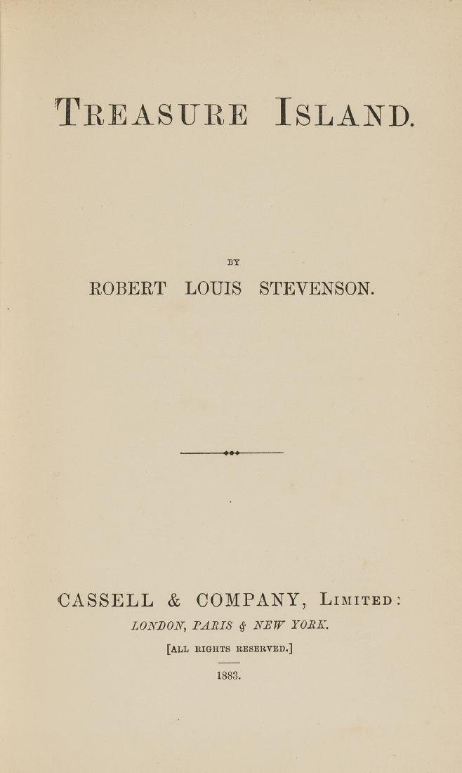Stevenson  (Robert Louis) Treasure Island, first