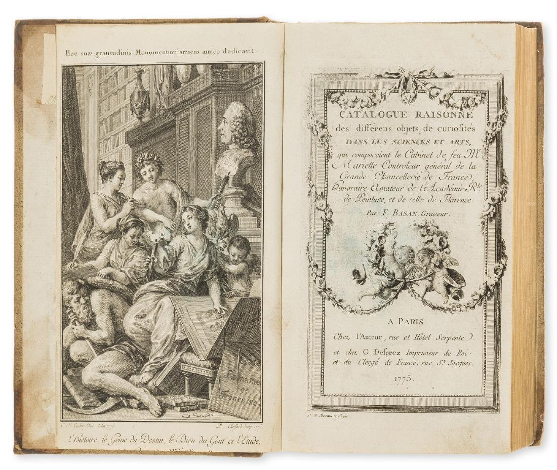 Sale catalogue.- Basan (Frederic) Catalogue