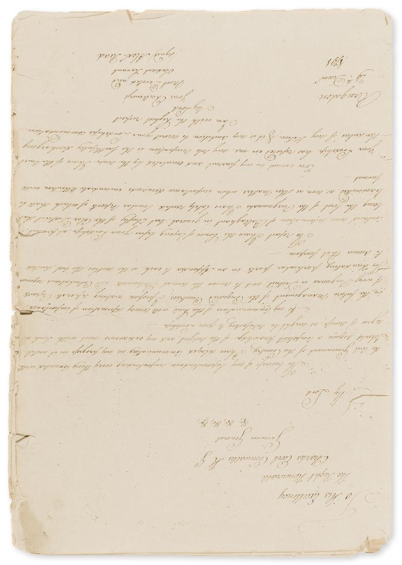 East India Company.- Report 1st. of the Colar [Kolar]