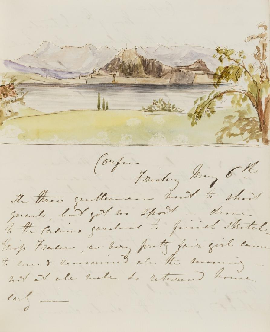 Shelley (Lady Jane) Diary, 1853 & 1860.