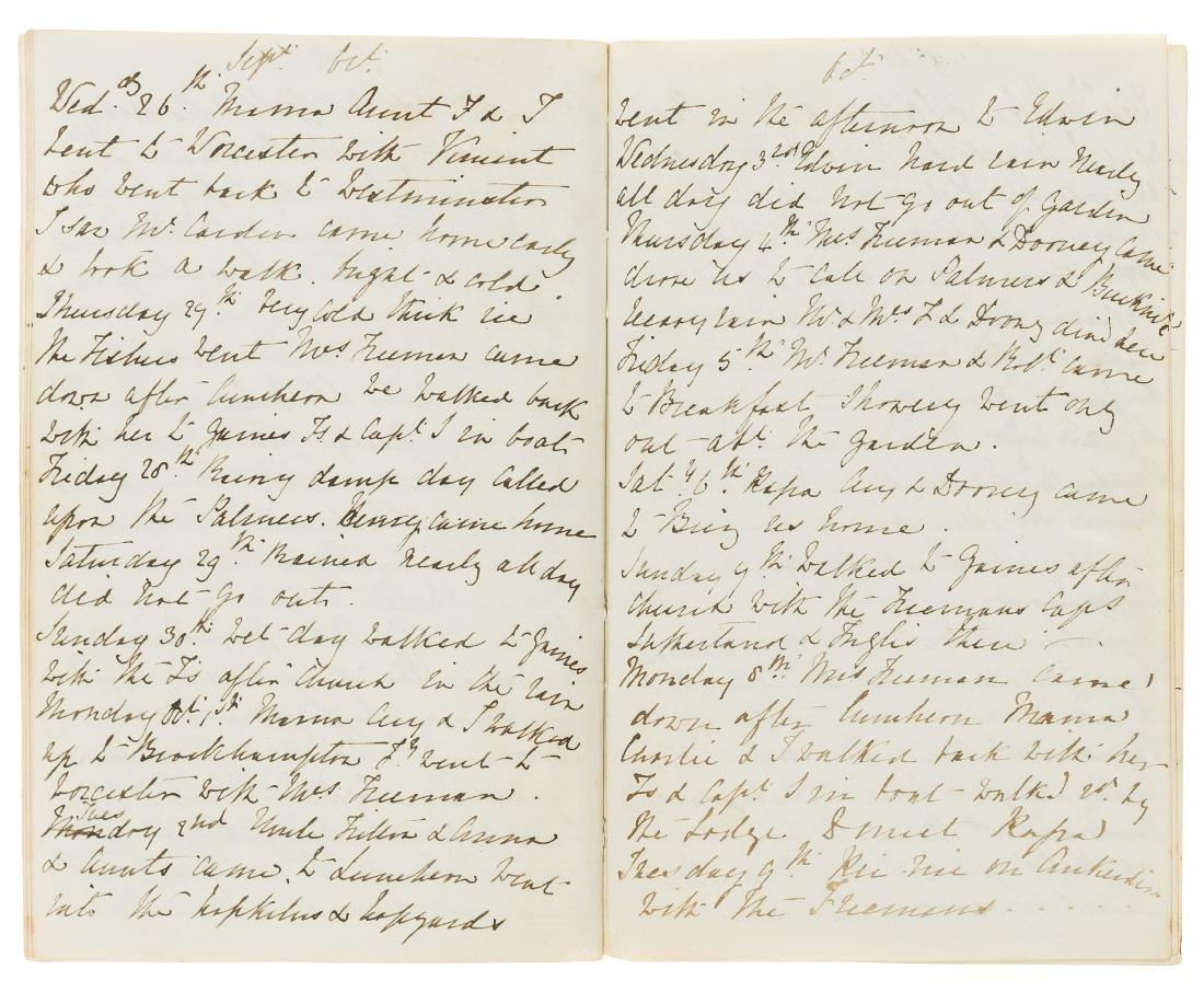 Herefordshire Diary.- Biscoe (Annie Elizabeth, of