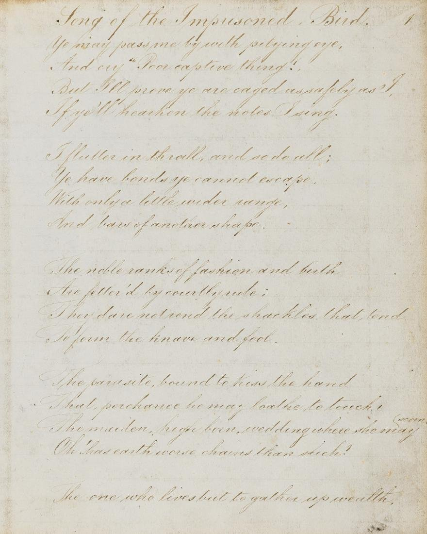 Poetry.- Cook (Eliza) Poems, 1860; and 3 other