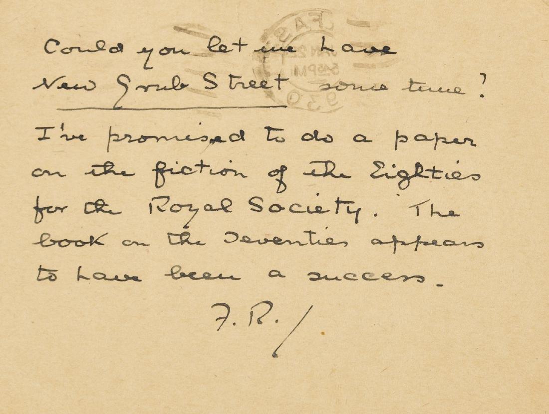 Reid (Forrest) 27 Autograph Letters signed & 16