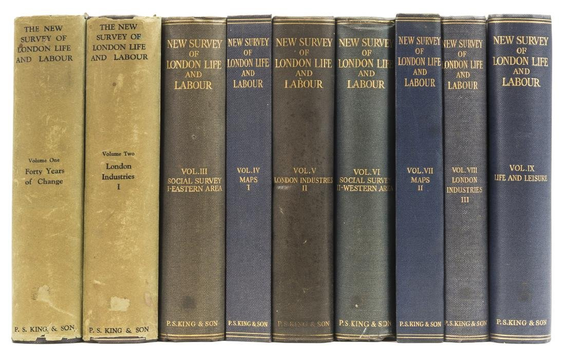 Booth (Charles), Hubert Llewyllyn Smith and others. New
