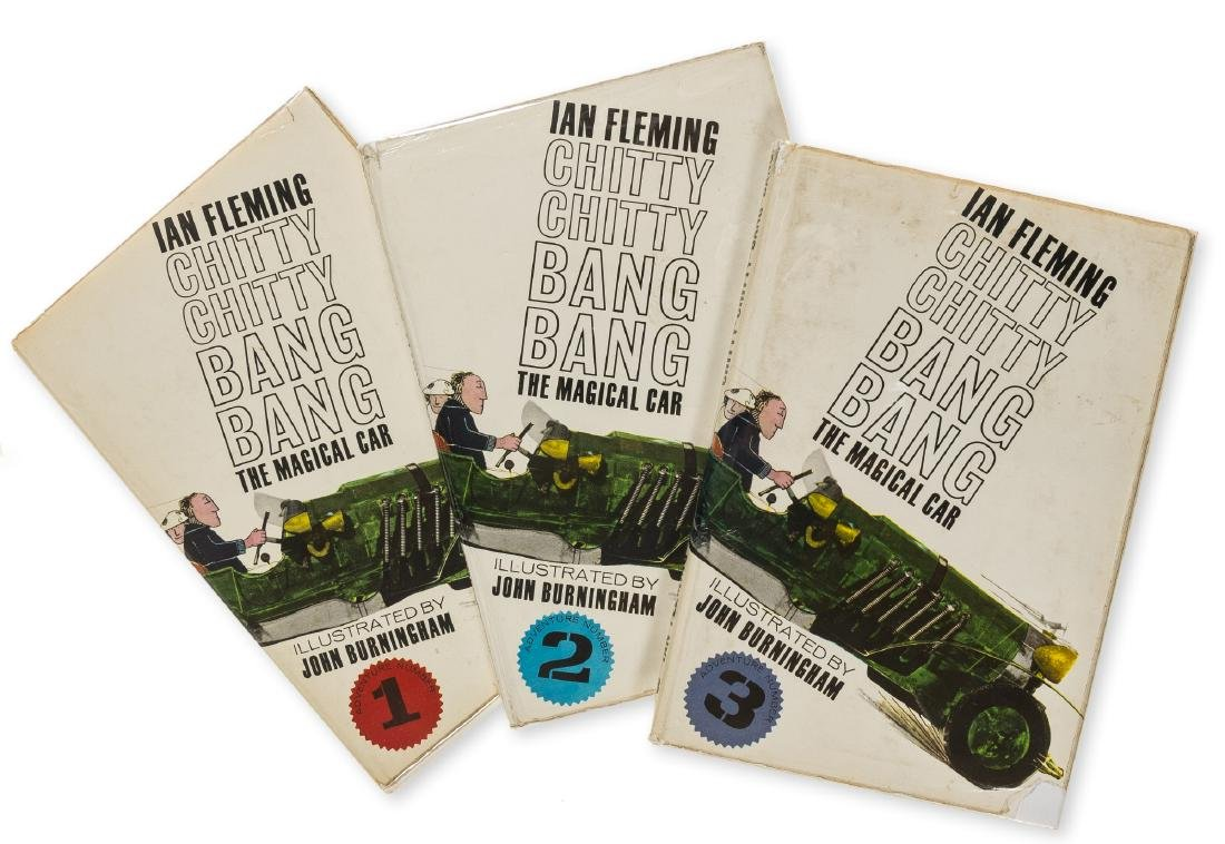 Fleming (Ian) Chitty Chitty Bang Bang, 3 vol., first