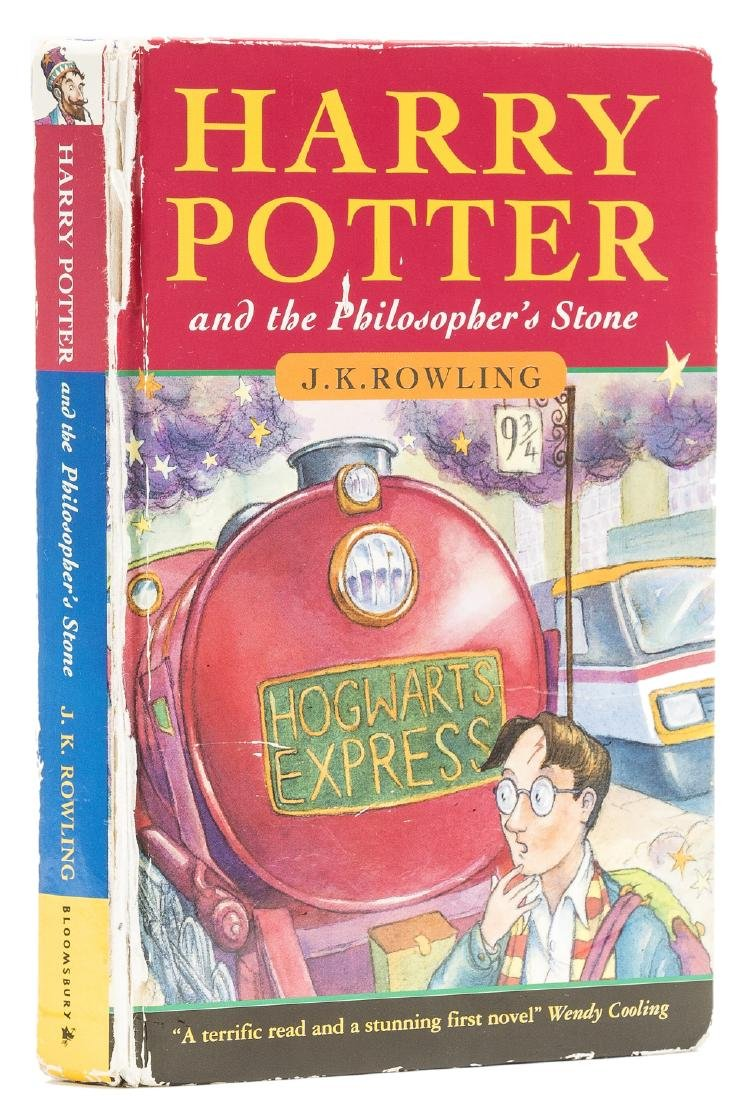 Rowling  (J.K.) Harry Potter and the Philosopher's