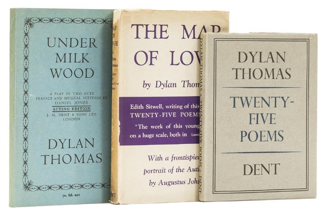 Thomas (Dylan) Twenty-Five Poems, first edition, 1936;